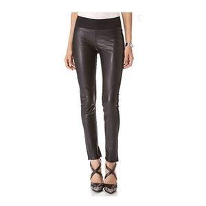 PAIGE Paloma Vegan Leather Leggings Black XS